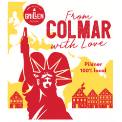 From Colmar with love Pilsner Le Grillen 33 cl