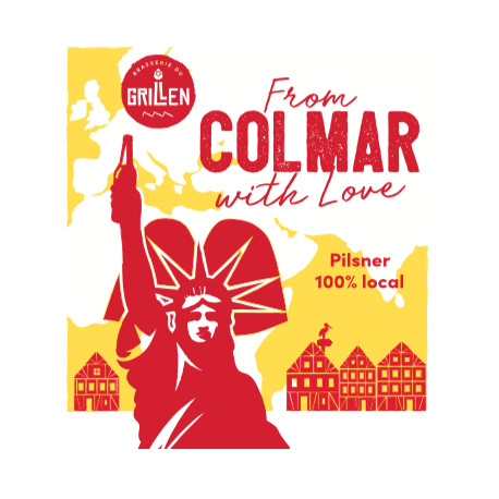 From Colmar with love Pilsner 33 cl